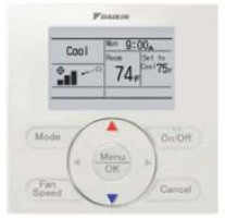 Daikin BRC1E2A71 Simplified Wired Controller All VRV & SkyAir Units