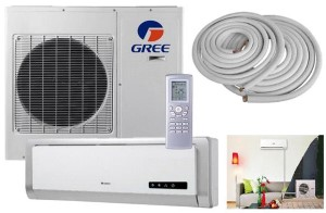 Gree 9000 btu Split Air Conditioner GWH09ABA3DNA1B