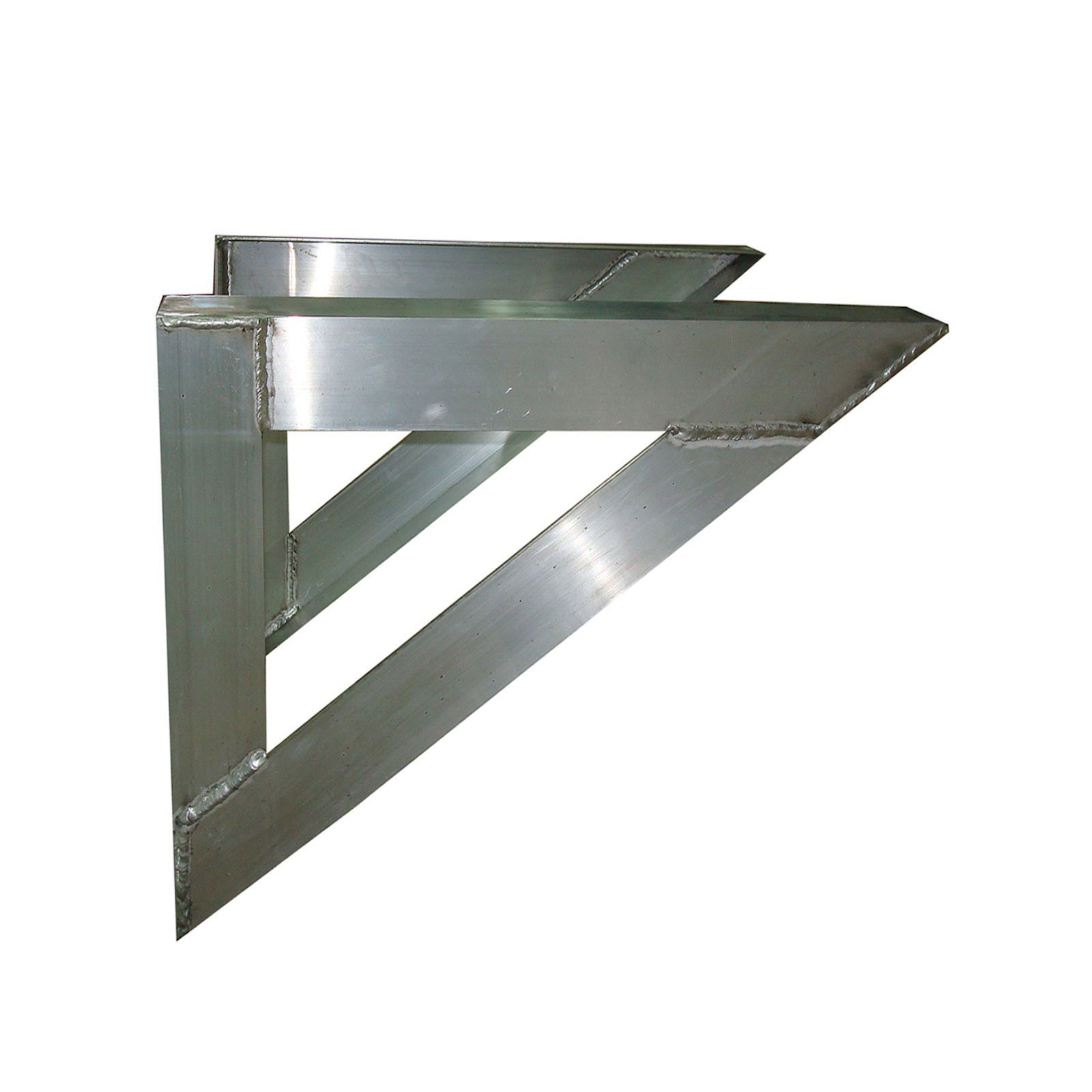 "The Metal Shop 007-845 - 30"" X 36"" Aluminum Wall Support Brackets"