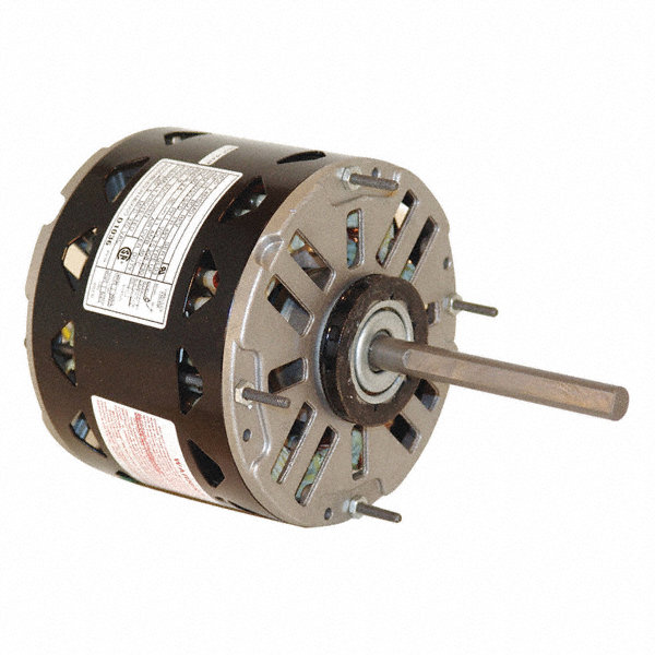CENTURY 1/3 HP Direct Drive Blower Motor, Permanent Split Capacitor, 1075 Nameplate RPM, 208-230 Voltage