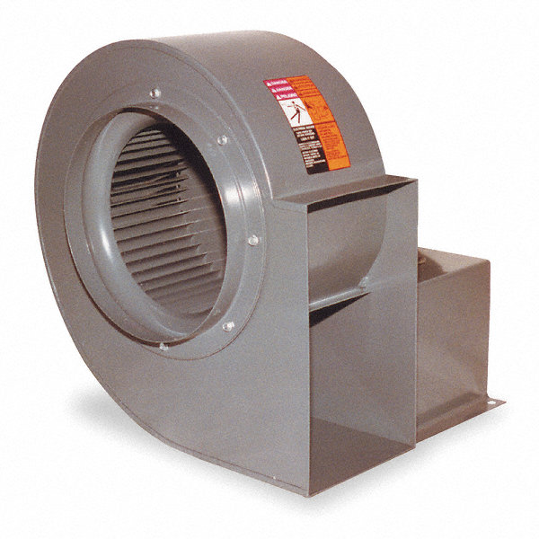 DAYTON Blower,6 5/16 In, Less Motor
