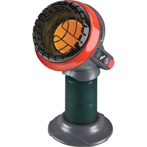 Mr. Heater Portable 3800 BTU Little Buddy Propane Heater (Heats 95 SQ.FT)