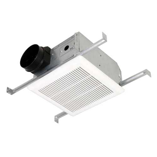 Soler And Palau PCV50 50 CFM 2 Sone Ceiling Mounted HVI Certified Bath Fan with Built-In Backdraft Damper