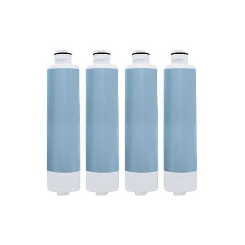 Aqua Fresh Replacement Water Filter f/ Samsung RS263TDWP/XAC / RF4289HARS Refrigerator Model 4 Pk