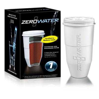 Zero Technologies - Zr-001 - 5 Stage Ion Exchg Filter 1 Pck
