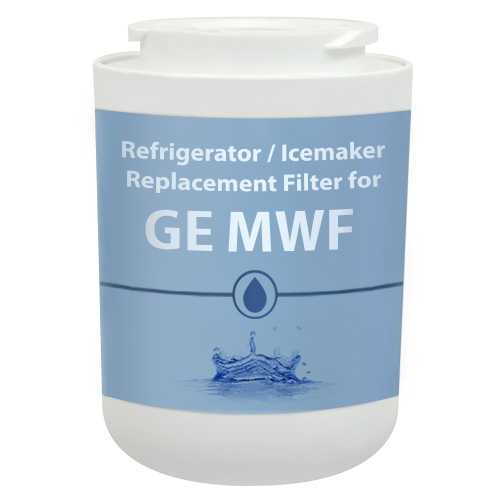 Aqua Fresh Replacement Water Filter for GE GSS23WGSCWW / GSS25ESHSS Refrigerator Models