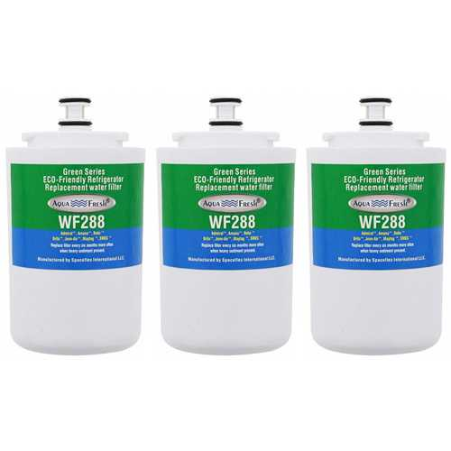 Aqua Fresh Replacement Water Filter for Maytag MSD2754GRW Refrigerators (3 Pack)
