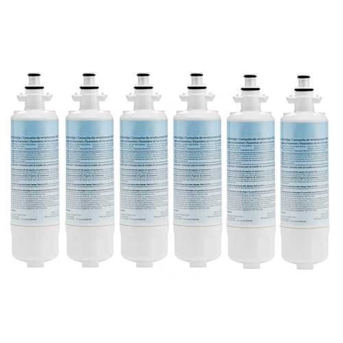 Original Water Filter For Kenmore 74093 Refrigerators - 6 Pack