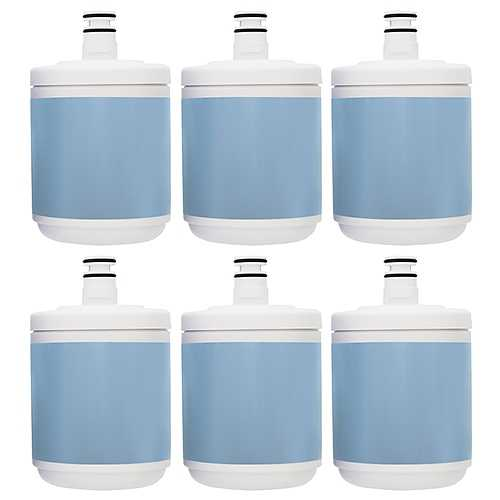 New Replacement Refrigerator Water Filter for Kenmore WF290 - 6 Pack