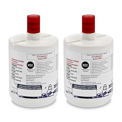 Original Refrigerator Water Filter for Kenmore 46-9890 / 469890 - 2 Pack