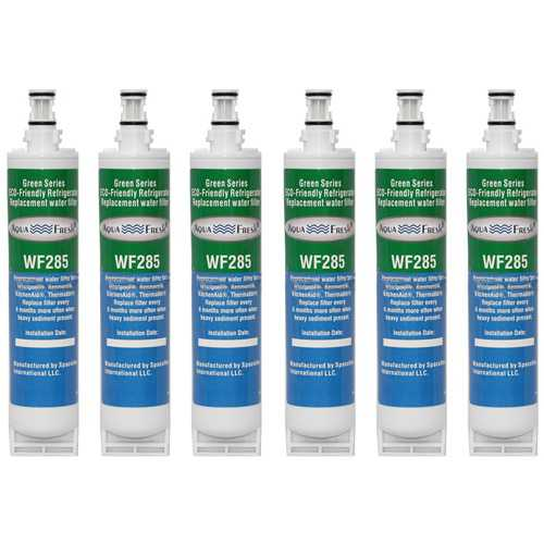 Aqua Fresh Replacement For Kenmore EDR5RXD3 Refrigerator Water Filter - 6 Pack