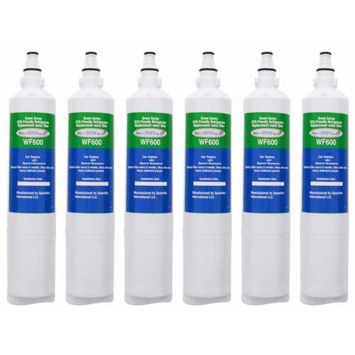Aqua Fresh Replacement Water Filter Cartridge For Kenmore 78723 Refrigerators - 6 Pack