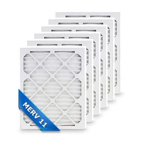 20x20x5 MERV 11 Air Filters (6-Pack) Replacement Air Filter