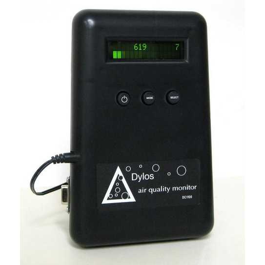 Dylos DC1100-PC DC1100 Air Quality Monitor With PC Interface