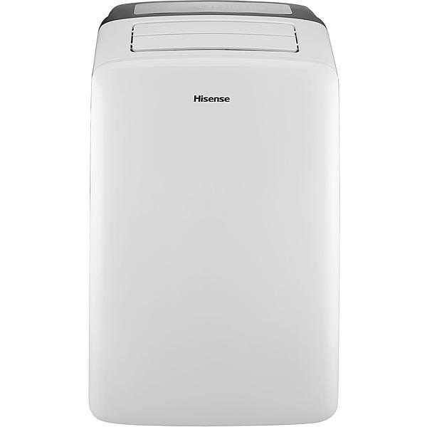 Hisense CAP-14DR1SFJS2 14,000 BTU Portable Air Conditioner with Heat (4-in-1) and I-Feel Temperature Sensing Remote Control