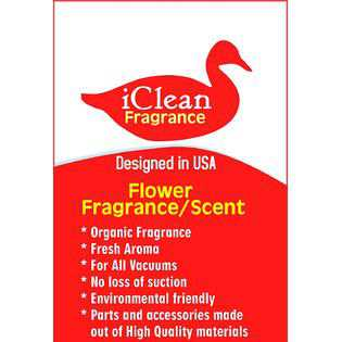 iClean Fragrance Vacuum Air Freshener Sticks Flower Fragrance/Scent 1Pk By iClean Fragrance