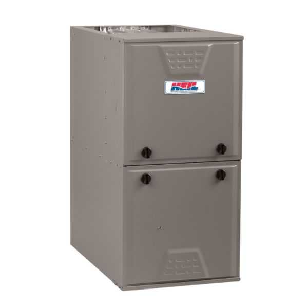 Heil - G9MXE0801716A - Up To 96% AFUE, Single Stage, ECM Gas Furnace