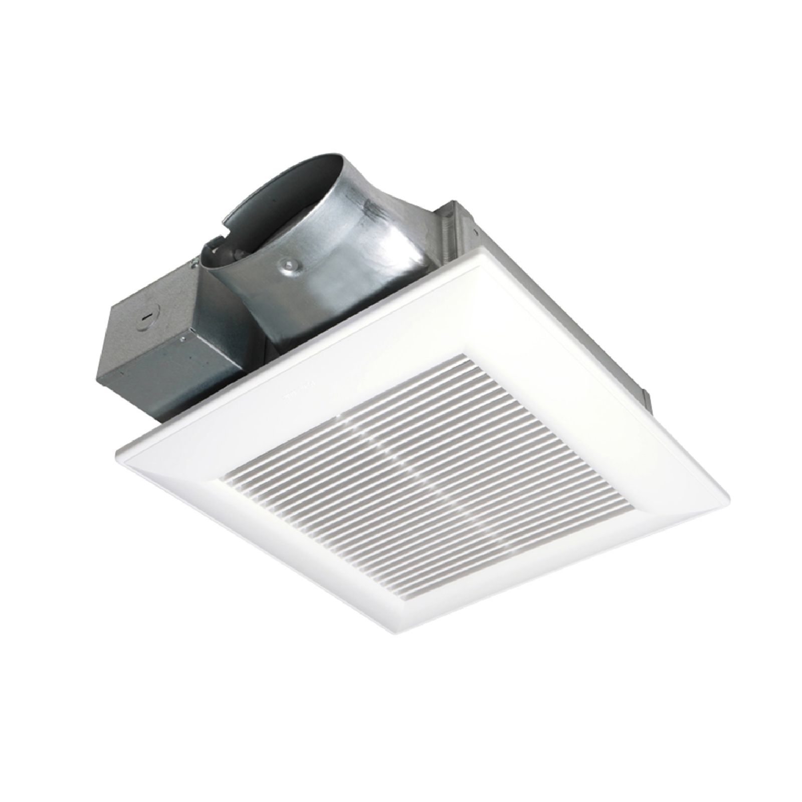 "Panasonic FV-08VS3 - Whisper value Fan, 80 CFM, 1.4 Sone, 3-3/8"" Depth, Includes (2)13W Self-Ballasted GU24 Base CFL'S."