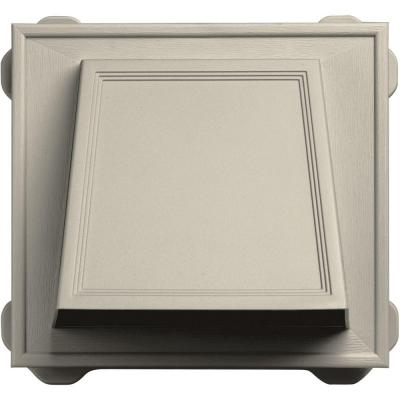 6 in. Hooded Siding Vent #089-Champagne