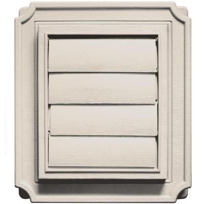 Scalloped Exhaust Siding Vent #048-Almond