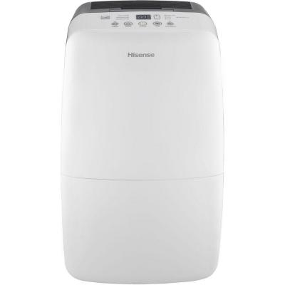 50-Pint 2-Speed Dehumidifier with Built-In 1200-Watt Heater