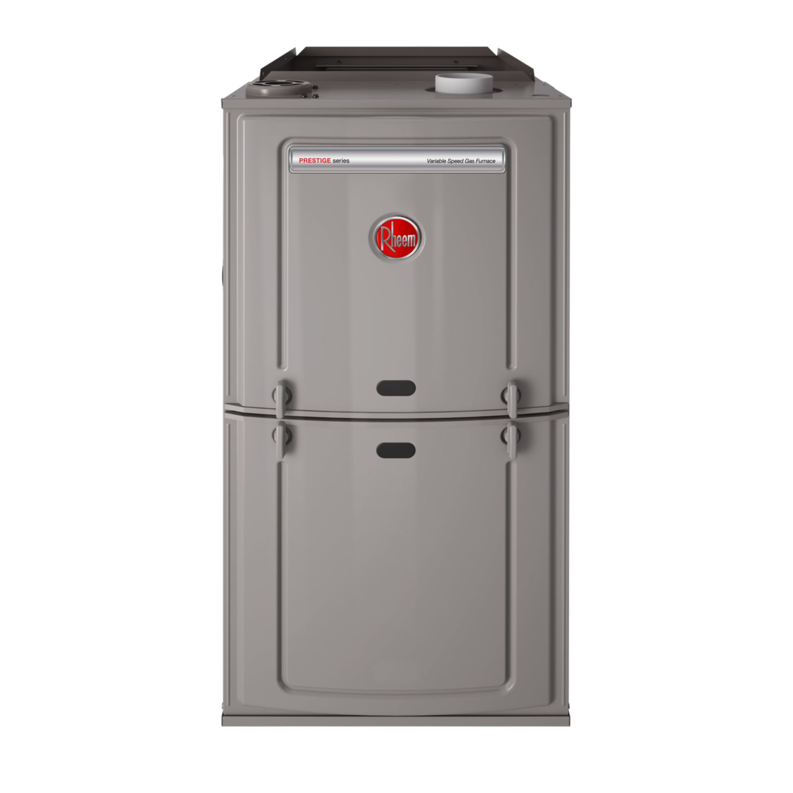 Rheem R802VA075317MSA - Prestige 80% Gas Furnace Two Stage Variable Speed, 75K BTU, Upflow/Horizontal, ECM Motor, Up to 3 Ton