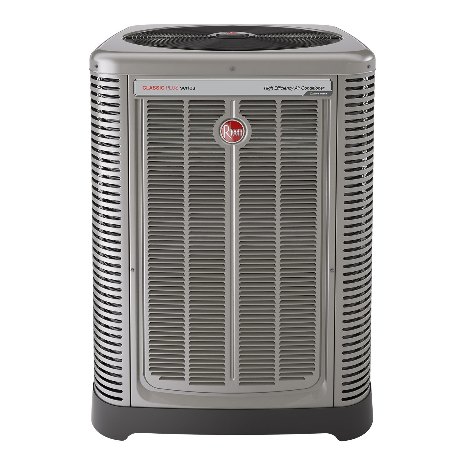Rheem RA1760AJ2CB - Classic Plus 5 Ton 17 SEER Two-Stage EcoNet Enabled Air Conditioner, 208-230/1/60