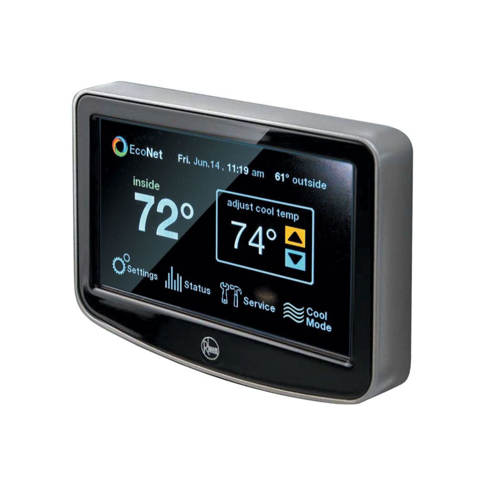 Rheem RETST601SYS - EcoNet Control Center - Home Control With Intuitive LCD Touchscreen Navigation